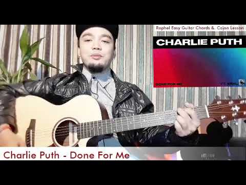 Done For Me by: Charlie Puth ft. Kehlani Easy Guitar Chords Tutorial