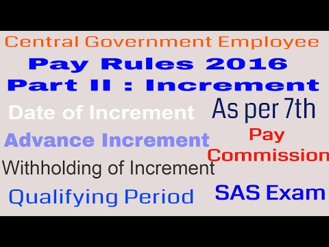 pay-rules-2016-part-ii_increment,-advance-increment,-withholding-of-increment-for-government-servant