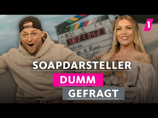 Sind Soapdarsteller überhaupt richtige Schauspieler?   1LIVE Dumm gefragt