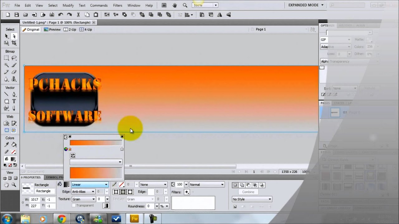 Adobe Fireworks Cs5 Tutorial Pdf