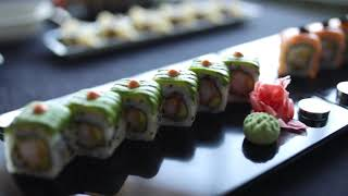 The flavors of the sea in the form of Sushi!