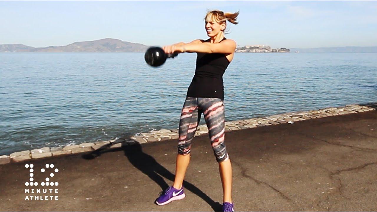 The King of Exercises: Kettlebell Swings - 12 Minute Athlete