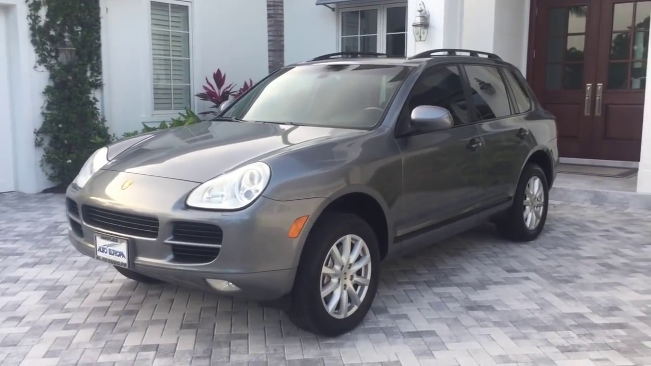 2006 Porsche Cayenne S Awd Suv Review And Test Drive By Bill Auto Europa Naples Youtube