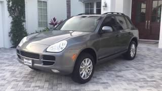 2006 Porsche Cayenne S AWD SUV Review and Test Drive by Bill Auto Europa Naples