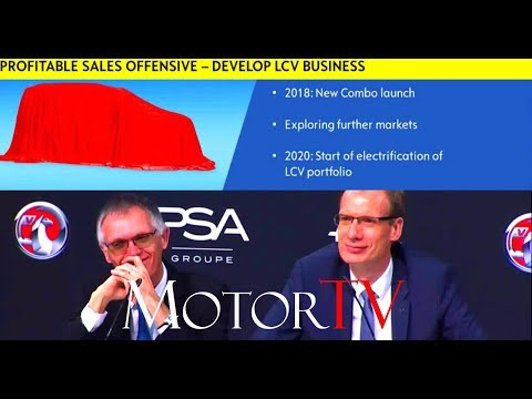 OPEL/VAUXHALL & PEUGEOT (PSA) AGREEMENT : PRESENTATION OF THE FUTURE PLAN l Press Conference (ENG)