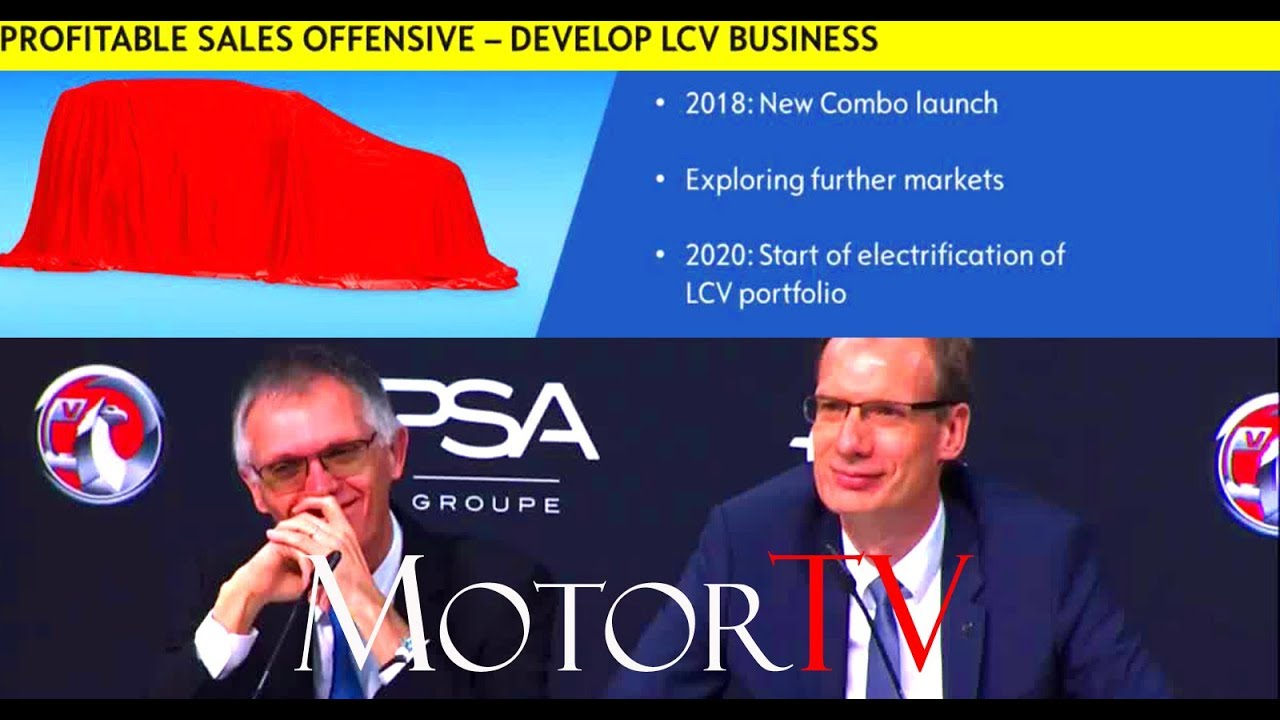 Opelvauxhall Peugeot Psa Agreement Presentation Of The Future