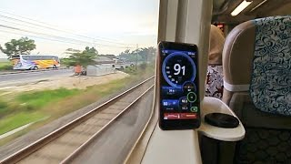 Download Video Kereta Api Argo Anggrek Nyaris Top Speed MP3 3GP MP4