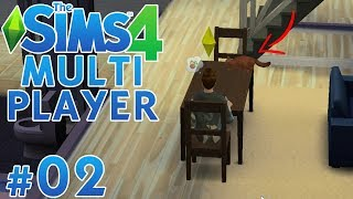 The Sims 4 Multiplayer PL #02 - Kot nam szaleje! | Vertez & Ulaśka