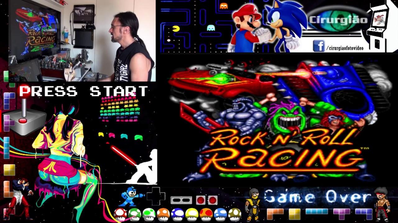 Rock And Roll Games >> Gameplay Rock N Roll Racing Do Super Nes Arcade Hercules Games Recalbox