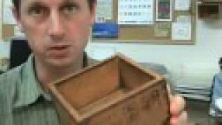 Antique Japanese Happiness Box - Large Wooden Fuku Masu