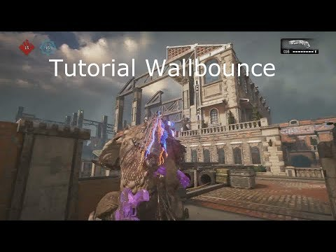 Gears of War 4 WALLBOUNCE TUTORIAL #2 Side to side, Angular, Hyper bounce... ~PhenoMz