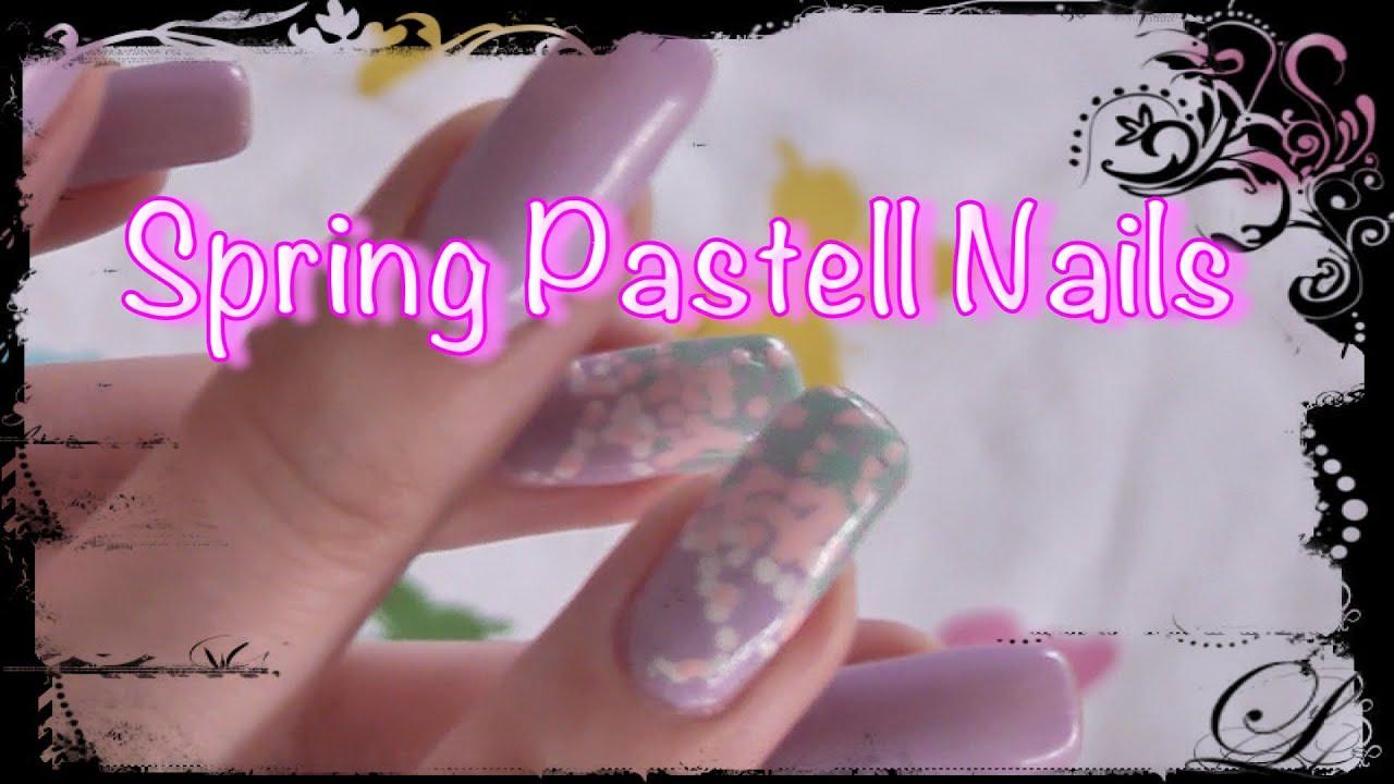 ❤ Spring Pastell Nail Tutorial ❤