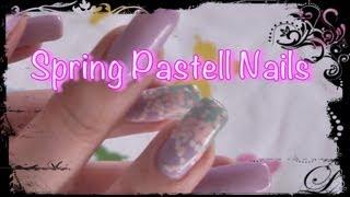 ❤ Spring Pastell Nail Tutorial ❤ Thumbnail