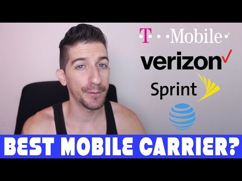 T-Mobile, Sprint, Verizon, and AT&T - Which Is The Best Mobile Carrier? Is There A Best?