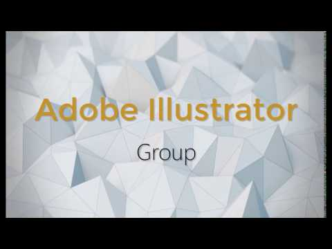 Adobe Illustrator CC - Օբյեկտների Խումբ (Group) in Armenian