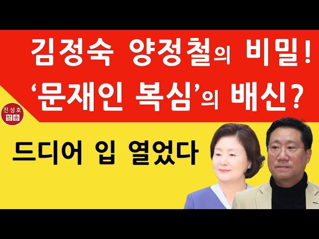 '문재인 복심' 양정철 논란에 드디어 입 열었다! (진성호의 융단폭격)