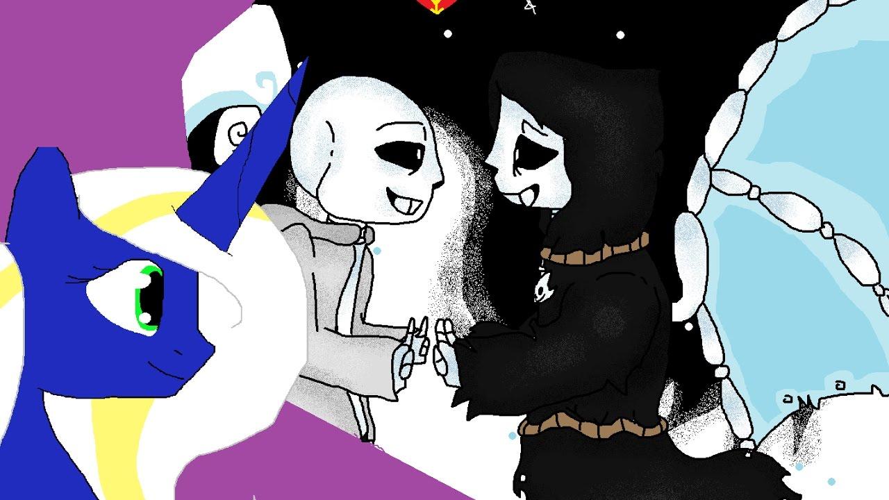 Reaper Sans X Geno Sans – Desenhos Para Colorir