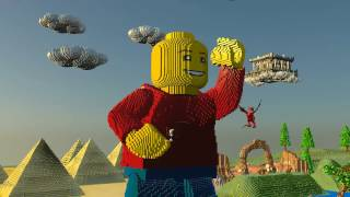 LEGO Worlds (PS4) PL
