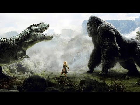 King Kong vs T-Rex Fight Scene - King Kong (2005) Movie CLIP [1080p 60 FPS HD]
