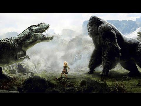 King Kong vs T-Rex Fight Scene - King Kong (2005) Movie CLIP [1080p 60 FPS HD] - Ruslar.Biz