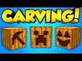 Minecraft Mods - CUSTOM PUMPKINS! | Pumpkin Carving Mod! (Minecraft Mod Spotlight)