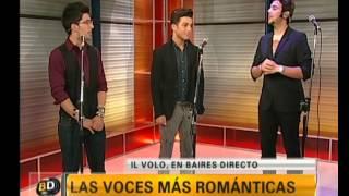 Íntima entrevista con los chicos de Il Volo - Telefe Noticias