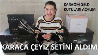 KARACANIN DEV ÇEYİZ SETİNİ ALDIM/DEĞİŞİM SÜRECİ/KOLİLERİ AÇALIM