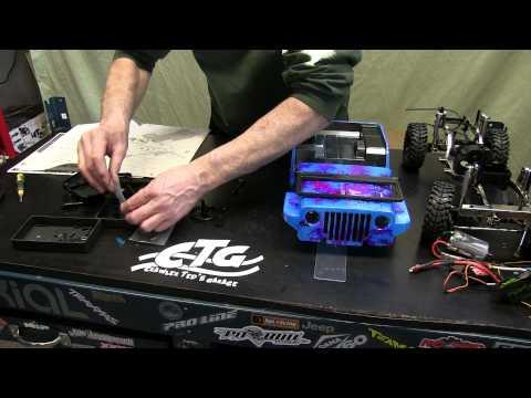 Crawler Teds Garage - Sawback build series  - Part 7