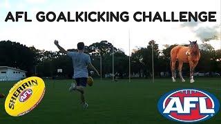 AFL Goalkicking Challenge (HORSE)