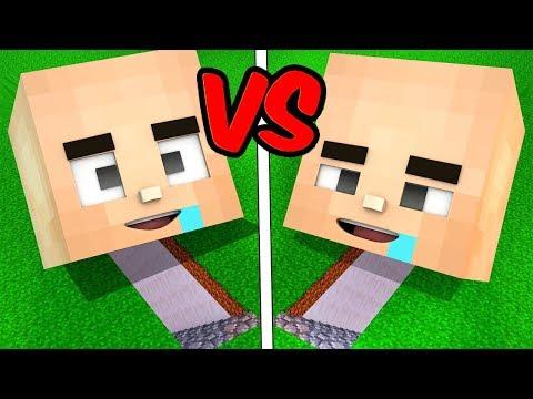 TROLL BEBEK GİZLİ EVİ VS TROLL BEBİŞ GİZLİ EVİ! 😱 Minecraft