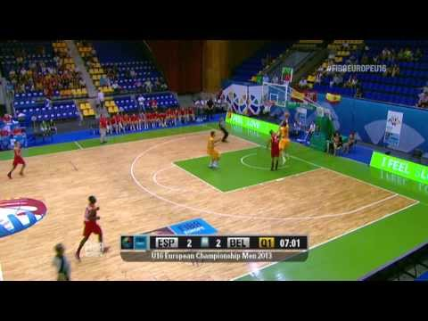 Video : Δημήτρης Φλιώνης | ...στις δέκα κορυφαίες στιγμές της 2ης αγωνιστικής, U16 Μen 2013 (Kyiv, Ukraine)