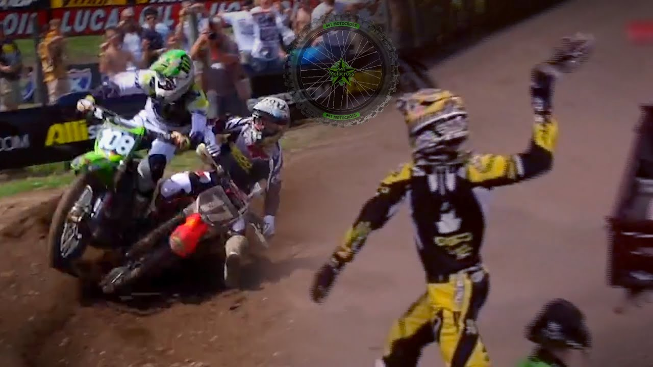 Justin Barcia Memorable Crashes and Take downs