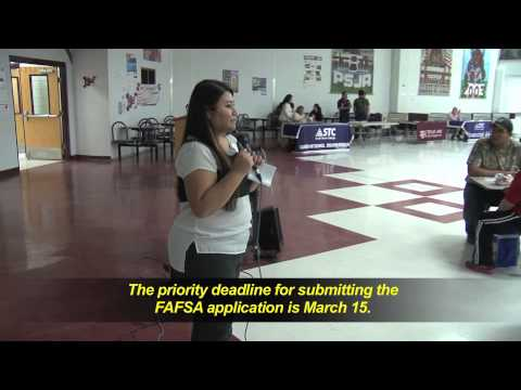 Financial Aid Night at PSJA Early College High School