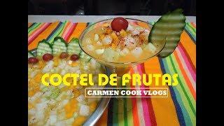 COCTEL DE FRUTAS | Carmen Cook Vlogs