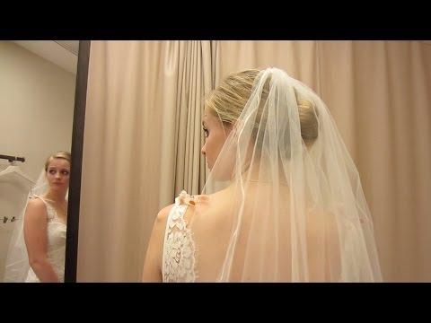 WEDDING DRESSES! (w/ Missy Lanning) | Wedding Planning Vlog Ep. 10