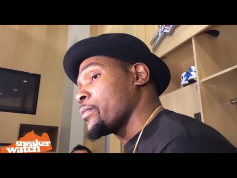 Kevin Durant Reacts to OKC's Big Trade Moves