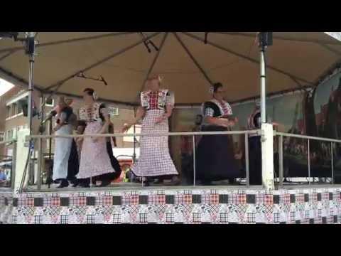 Volksdansgroep Spakenburgse Dagen 2016 Di Grine Kusine