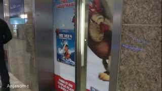 Otis 2000 VF traction elevators at Oracle mall, Reading