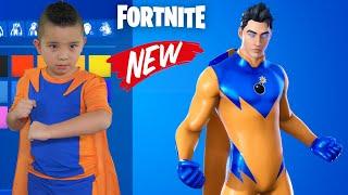 My NEW Superhero Skin in Fortnite CKN Gaming