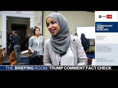 Briefing Room: Trump's inflammatory tweets, ICE Raids, 2020 candidates' healthcare plans | ABC News