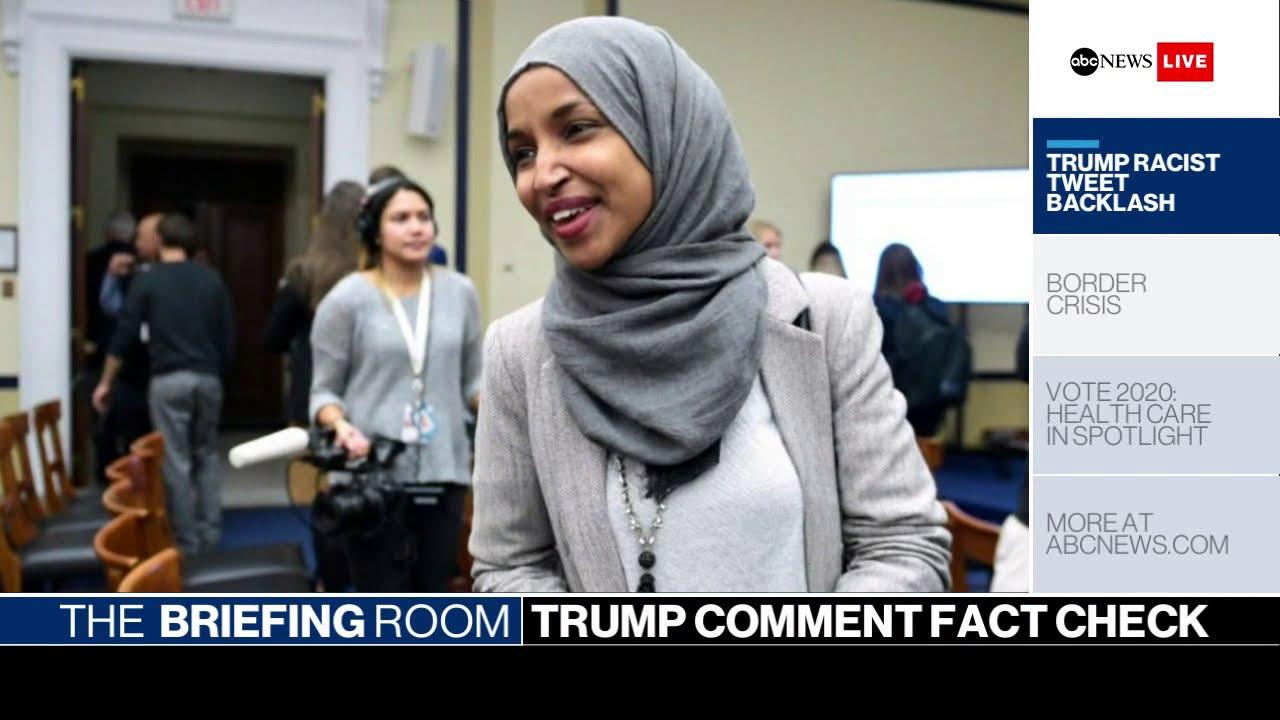 ABC News:Briefing Room: Trump's inflammatory tweets, ICE Raids, 2020 candidates' healthcare plans | ABC News