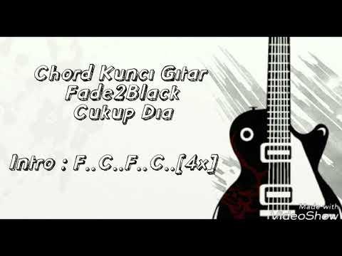 Fade 2 Black - Cukup Dia ( Lirik + Kunci Gitar )