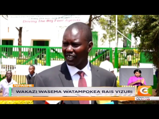 Rais Kenyatta kufungua kiwanda cha Rivatex