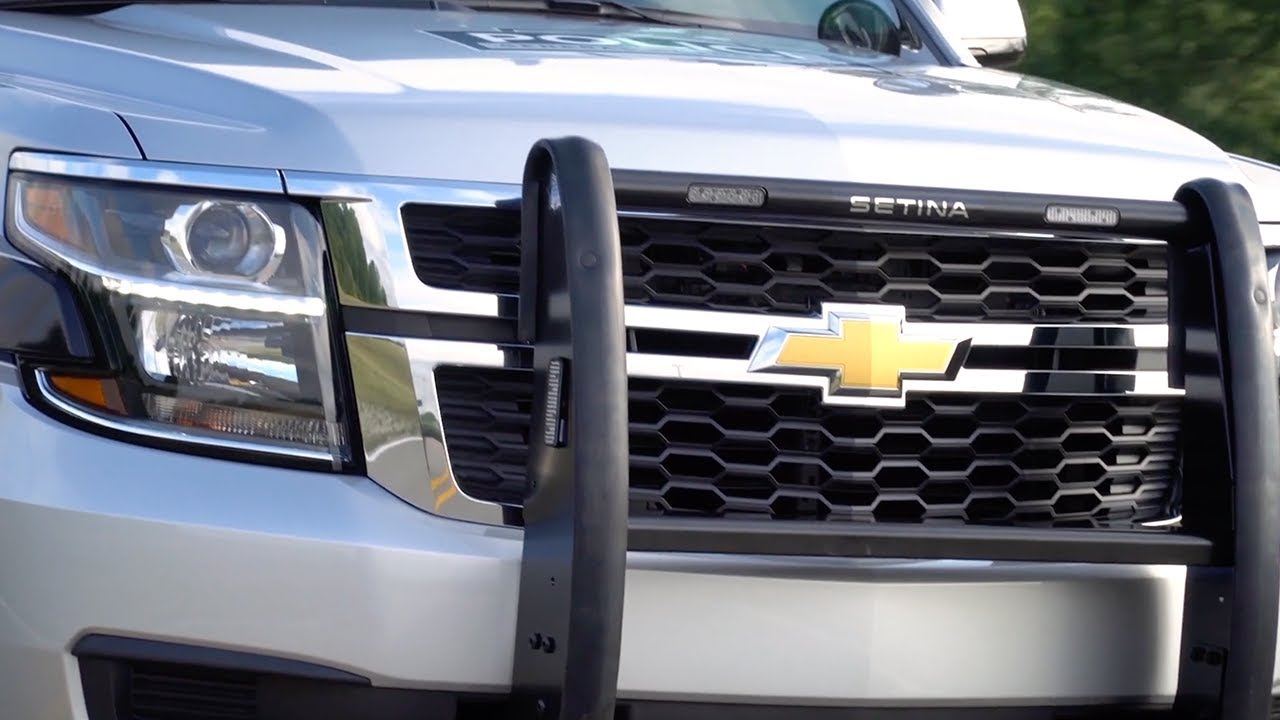 2018 Chevrolet Police Tahoe Ppv Safety Features Gm Fleet Youtube