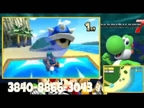 Mario Kart 7: Hacker Controls me