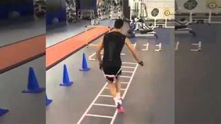 Alvaro Arbeloa great training session