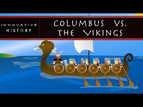 Vikings vs.  Christopher Columbus | 3 Minute History