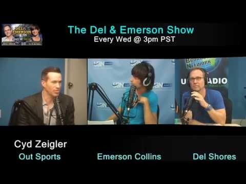 The Del & Emerson Show - 5/20/15 - Cyd Zeigler - Outsports