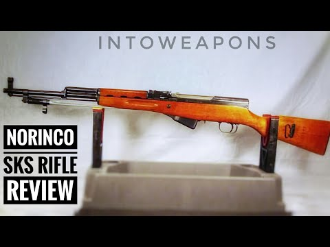 Norinco SKS Type 56 Rifle:  Shooting & Disassembly