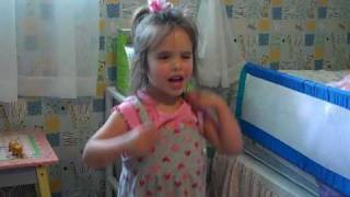 Download Four Year Old Isabelle Singing Hey Soul Sister MP3 song and Music Video